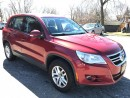Used 2010 Volkswagen Tiguan ONE OWNER-NO ACCIDENT - CERTIFIED - WARRANTY for sale in Cambridge, ON
