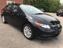 Used 2012 Honda Civic EX - ONE OWNER - SAFETY & WARRANTY INCLUDED for sale in Cambridge, ON