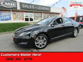 Used 2014 Lincoln MKZ AWD, NAVIGATION,  SUNROOF, LEATHER for sale in St Catharines, ON