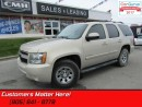 Used 2008 Chevrolet Tahoe LT  AS TRADED *UNCERTIFIED* 4X4, LEATHER, SUNROOF for sale in St Catharines, ON