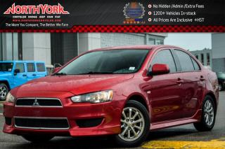 Used 2013 Mitsubishi Lancer SE|CleanCarProof|HtdFrntSeats|PwrWindows|AC|KeylessEntry|16