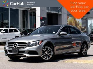 Used 2015 Mercedes-Benz C-Class C 300 Panoramic Sunroof Navigation Backup Camera Blind Spot for sale in Thornhill, ON