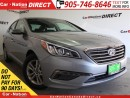 Used 2017 Hyundai Sonata GLS| SUNROOF| BACK UP CAMERA & SENSORS| for sale in Burlington, ON