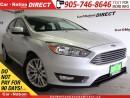 Used 2016 Ford Focus Titanium| NAVI| LEATHER| SUNROOF| for sale in Burlington, ON