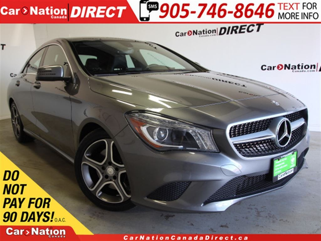 Used 2014 mercedes benz cla class cla250 leather pano for 2014 mercedes benz cla class cla250