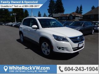 Used 2010 Volkswagen Tiguan 2.0 TSI Highline POWER MOONROOF, CRUISE CONTROL, KEYLESS ENTRY & A/C for sale in Surrey, BC
