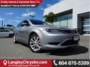 Used 2015 Chrysler 200 C W/NAVIGATION, PANO SUNROOF & LEATHER INTERIOR for sale in Surrey, BC