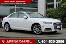 Used 2017 Audi A4 2.0T Progressiv NO ACCIDENTS, LOW KM'S for sale in Surrey, BC