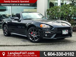 New 2017 Fiat 124 Spider Abarth STEERING WHEEL MOUNTED CONTROLS! for sale in Surrey, BC