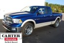 Used 2010 Dodge Ram 1500 Laramie + 4X4 + LOCAL + LOW KMS + NAVI! for sale in Vancouver, BC