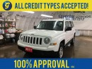 Used 2011 Jeep Patriot NORTH*4WD*KEYLESS ENTRY*ALLOYS*CLIMATE CONTROL*POWER WINDOWS/LOCKS/HEATED MIRRORS*TRACTION CONTROL*CRUISE CONTROL* for sale in Cambridge, ON