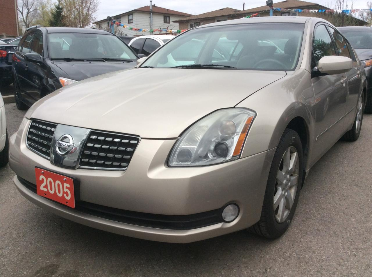 used 2005 nissan maxima 3 5 sl for sale in scarborough. Black Bedroom Furniture Sets. Home Design Ideas