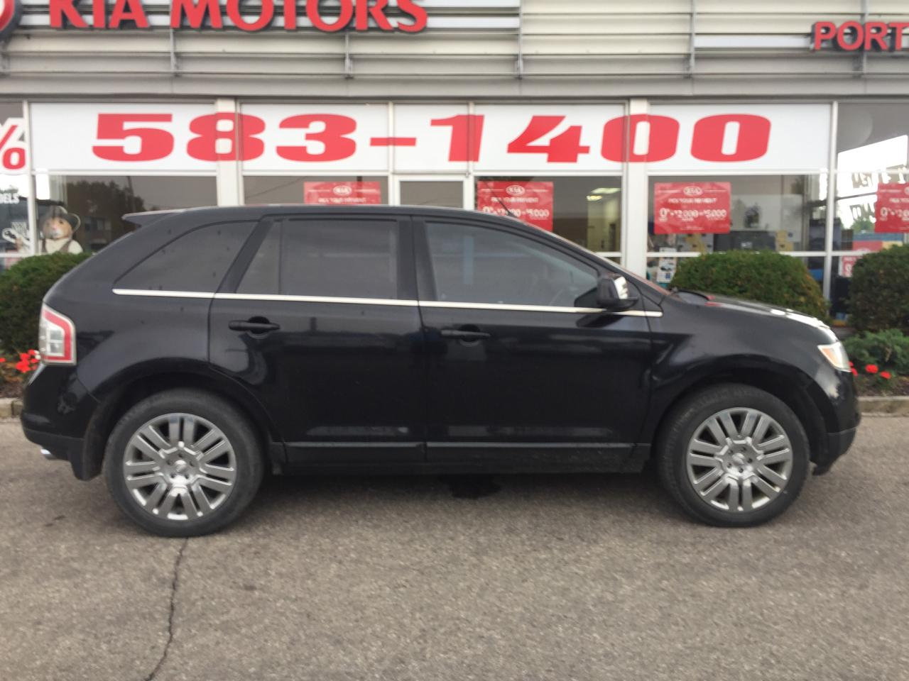 used 2008 ford edge limited for sale in port dover ontario. Black Bedroom Furniture Sets. Home Design Ideas