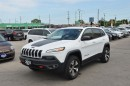 Used 2016 Jeep Cherokee Trailhawk - V6  4x4  Leather  Bluetooth  Sunroof for sale in London, ON