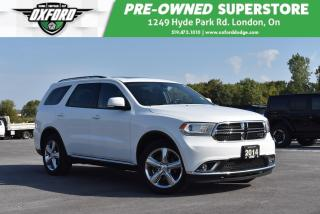 Used 2014 Dodge Durango Limited - GPS, UConnect, Memory Driver Seat for sale in London, ON
