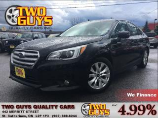 Used 2015 Subaru Legacy 2.5i TOURING SUNROOF ALLOYS AWD for sale in St Catharines, ON