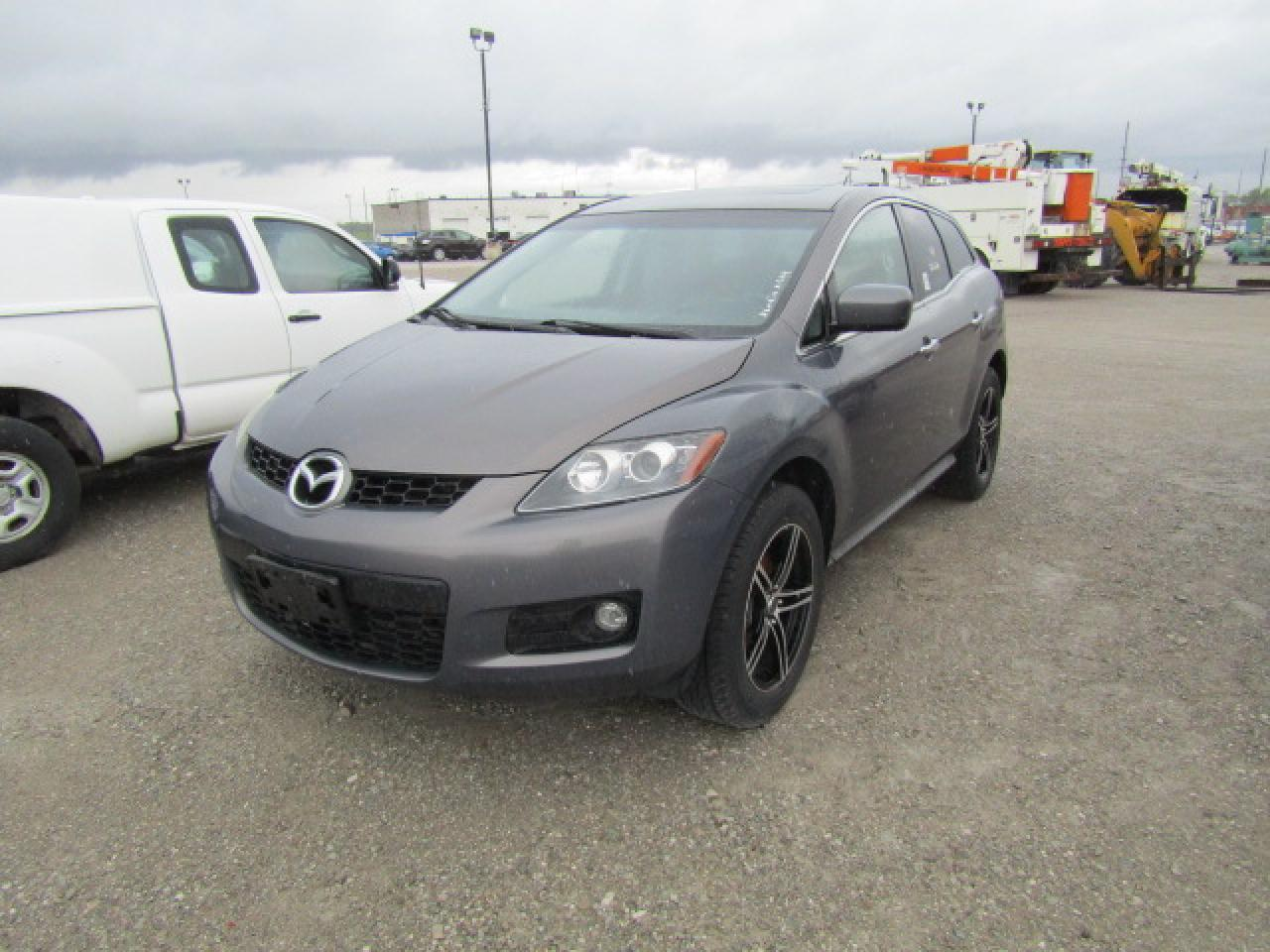 Photo of Grey 2007 Mazda CX-7
