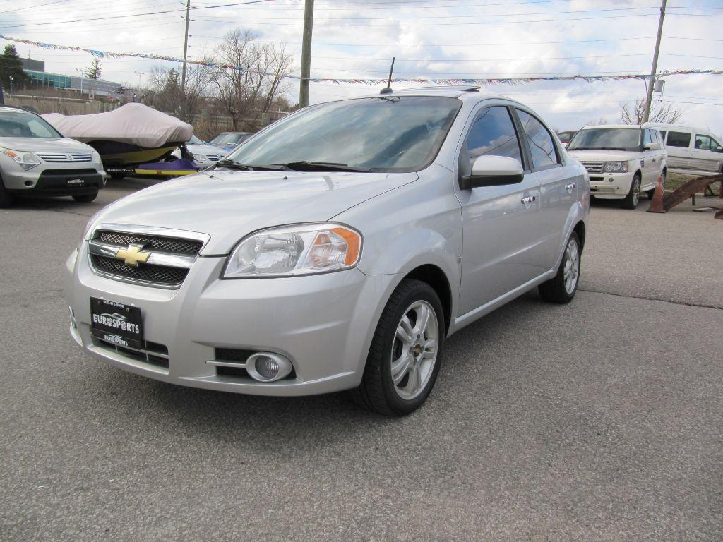 Used 2010 Chevrolet Aveo Lt Auto Sunroof For Sale In