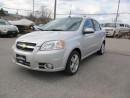 Used 2010 Chevrolet Aveo LT , AUTO , SUNROOF for sale in Newmarket, ON