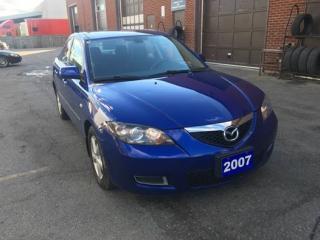 Used 2007 Mazda MAZDA3 GX for sale in North York, ON