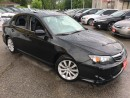 Used 2011 Subaru Impreza 2.5i /Limited/AWD/LEATHER/ROOF/SPOILALLOYS/CLEAAAN for sale in Scarborough, ON
