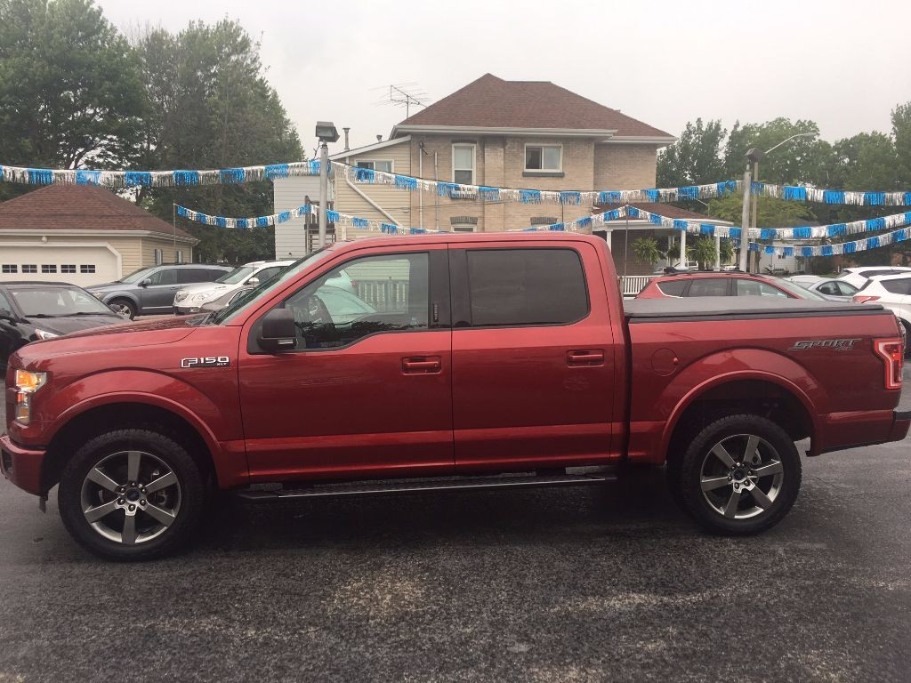 used 2015 ford f 150 xlt sport supercrew for sale in dunnville ontario. Black Bedroom Furniture Sets. Home Design Ideas