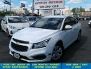 Used 2015 Chevrolet Cruze 1LT Auto Prl White Camera/Bluetooth &GPS* for sale in Mississauga, ON