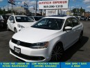 Used 2013 Volkswagen Jetta Prl White Sportline Leather/Sunroof/Alloys&GPS* for sale in Mississauga, ON
