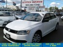 Used 2013 Volkswagen Jetta Prl White Auto/B.tooth/Htd Seats&GPS* for sale in Mississauga, ON