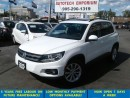 Used 2015 Volkswagen Tiguan Comfortline Prl White Leather/PanoRoof & ABS* for sale in Mississauga, ON