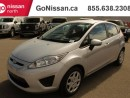 Used 2012 Ford Fiesta AUTO, A/C, LOW KM for sale in Edmonton, AB