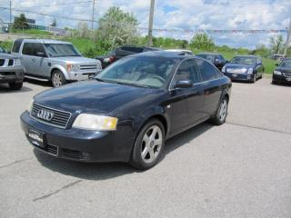 Used 2003 Audi A6 3.0L for sale in Newmarket, ON