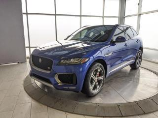Used 2018 Jaguar F-PACE 380 HP Supercharged V6 for sale in Edmonton, AB