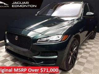Used 2018 Jaguar F-PACE Prestige - Certified Pre Owned Warranty until September 1 2023 or 160,000KM - Certified Rates from 3.9% for sale in Edmonton, AB