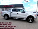 Used 2010 Ford F-150 XLT SuperCrew Cab 4X4 Automatic Certified 2YR Warr for sale in Milton, ON