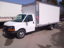 Used 2014 GMC Savana 3500 16' gas cube with ramp for sale in Kitchener, ON