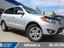 Used 2011 Hyundai Santa Fe LTD WITH NAV LEATHER SEATS for sale in Edmonton, AB