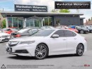 Used 2015 Acura TLX TECH PKG |NAV|CAMERA|PADDLESHIFT|SKIRT PKG|PHONE for sale in Scarborough, ON