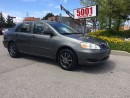 Used 2007 Toyota Corolla AUTO,P/W,$6288,SAFETY+3YEARS WARRANTY INCLUDED for sale in North York, ON