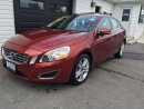 Used 2012 Volvo S60 T6 PREMIUM for sale in Kingston, ON