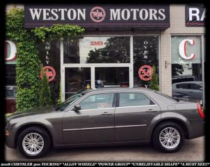 Used 2008 Chrysler 300 TOURING*AWD*CHROME WHEELS*POWER GROUP*A MUST SEE* for sale in York, ON