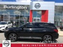 Used 2017 Nissan Pathfinder PLATINUM, NAVi, ACCIDENT FREE ! for sale in Burlington, ON