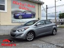 Used 2016 Hyundai Elantra SPORT APPEARANCE PKG - BACKUP CAM - SUNROOF! for sale in Gloucester, ON