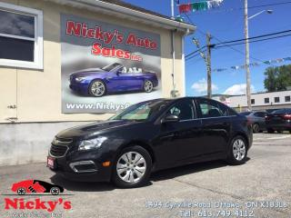 Used 2016 Chevrolet Cruze LIMITED - LT - BLUETOOTH - BACKUP CAM - LOADED! for sale in Gloucester, ON