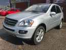 Used 2007 Mercedes-Benz ML 320 CDI DIESEL - ONE OWNER - NO ACCIDENT - CERTIFIED for sale in Cambridge, ON