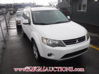 Used 2008 Mitsubishi OUTLANDER XLS 4D UTILITY 4WD 3.0L for sale in Calgary, AB
