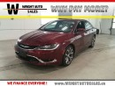 Used 2016 Chrysler 200 C|NAVIGATION|SUNROOF|LEATHER| 30,875 KMS for sale in Cambridge, ON