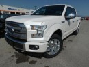 Used 2017 Ford F-150 PLATINUM 3.5L V6 ECO 700A for sale in Midland, ON