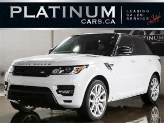 Used 2014 Land Rover Range Rover Sport SUPERCHARGED V8, DYNAMIC, NAVI, PANO, CAM for sale in North York, ON