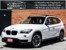 Used 2013 BMW X1 xDrive28i+Sport Pkg+Pano Roof+Red leather seats for sale in North York, ON